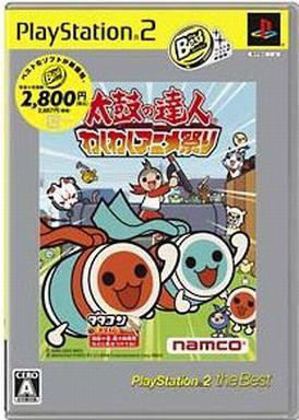 【中古】PS2ソフト 太鼓の達人 -わくわくアニメ祭り- [ベスト版]
