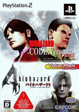 【中古】PS2ソフト バイオハザード4 + CODE:Veronic[2本セット]