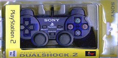 【中古】PS2ハード アナログコントローラ (DUALSHOCK 2 ) ミッドナイト・ブルー
