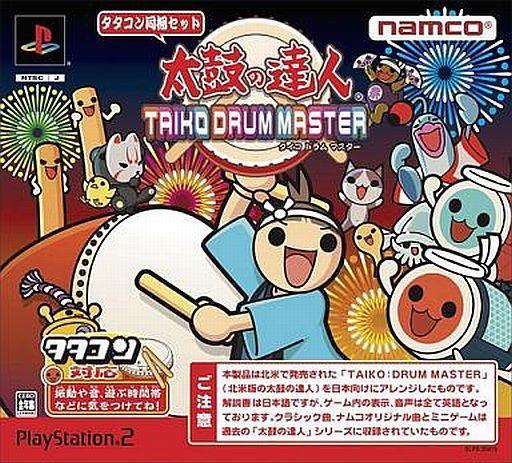 【中古】PS2ソフト 太鼓の達人 -TAIKO DRUM MASTER- [タタコン同梱版]