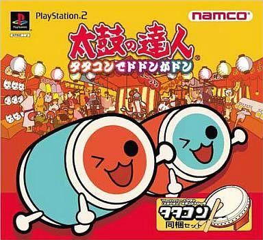 【中古】PS2ソフト 太鼓の達人 タタコンでドドンがドン [タタコン同梱セット] (状態:タタコン状態難)
