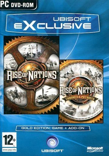 EXCLUSIVE RISE OF NATIONS + RISE OF NATIONS AND PATRIOTS [EU version]