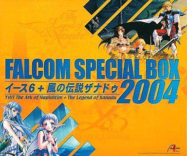 Falcom Special BOX2004 Ys 6 + Wind Legend Xanadu (State: Ys 6 Soundtrack CD missing)