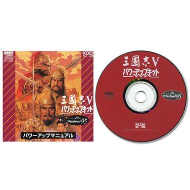Sangokushi 5 Power Up Kit (Condition: Game Disc + Manual)