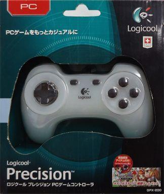 Logitech Precision PC Game Controller (White) [GPX-200WH]