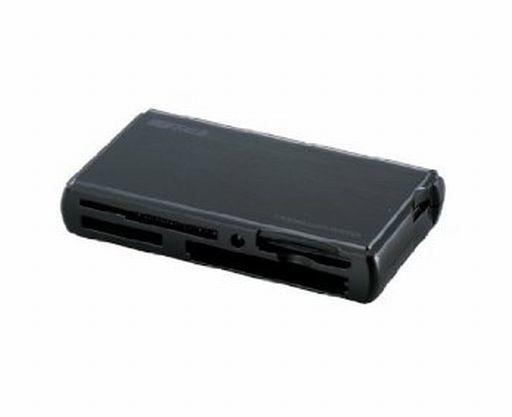 【中古】WindowsXP/Vista/7/MacOSX10.2以降 ハード 55メディア対応 カードリーダ/ライタ TurboUSBモデル(シャイニーブラック) [BSCRA38U2BK]