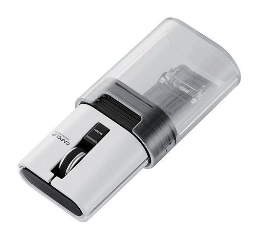 【中古】WindowsVista/7/8/8.1/10ハード Bluetoothワイヤレスマウス CAPCLIP (ホワイト) [M-CC1BRWH]