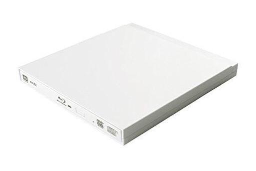 【中古】WindowsVista/7/8/8.1/10/MacOS10.5以降ハード USB3.0対応 ポータブルブルーレイ・DVDドライブ (ホワイト) [LBD-PUB6U3VWH]