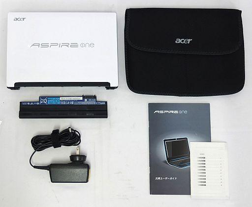 【中古】PCハード ネットブック ASPIRE one D255-WS116 [ホワイト]