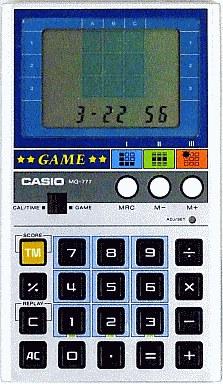 ゲーム電卓 MG-777   中古   LSI...