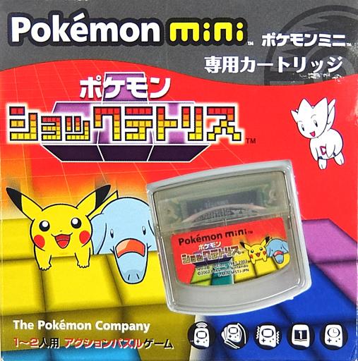 【中古】携帯ゲーム Pokemon mini専用カートリッジ ポケモンショックテトリス
