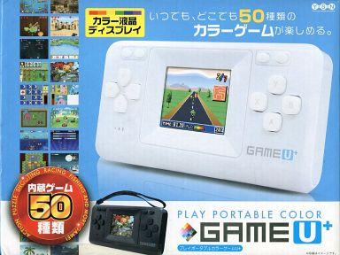 【中古】その他ゲーム プレイポータブルカラー ゲームU+ (ホワイト)