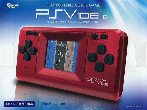 【中古】その他ハード プレイポータブルカラーゲーム PSV108 6th (レッド)