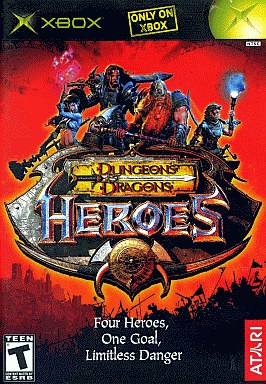 North American version Dungeons & Dragons: Heroes (domestic version main body operable)