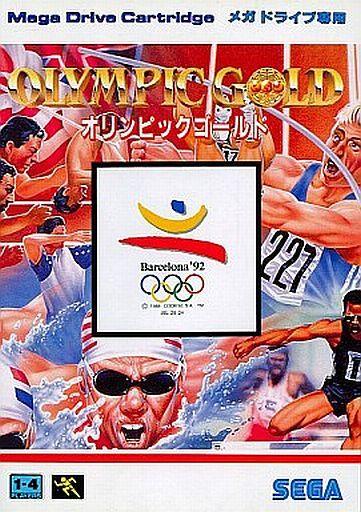 【中古】メガドライブソフト オリンピックゴールド