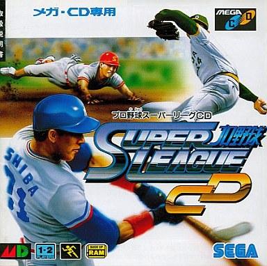 【中古】メガドライブCDソフト(メガCD) プロ野球スーパーリーグCD