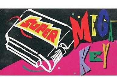 super mega key スーパーメガキー 中古 メガドライブ ハード