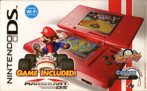 【中古】ニンテンドーDSハード 北米版 ニンテンドーDS本体 Mario Kart Bundle
