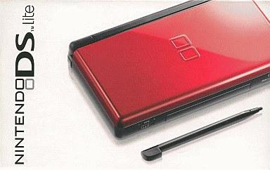 【中古】ニンテンドーDSハード 海外版 ニンテンドーDS Lite本体 クリムゾンブラック(国内使用可)