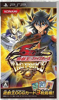 【中古】PSPソフト 遊戯王ファイブディーズ タッグフォース 6