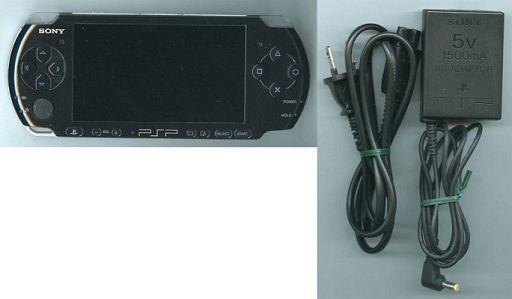 【中古】PSPハード PSP本体(PSP-3000PB・ピアノ・ブラック) (状態:箱・説明書欠品/本体状態難)