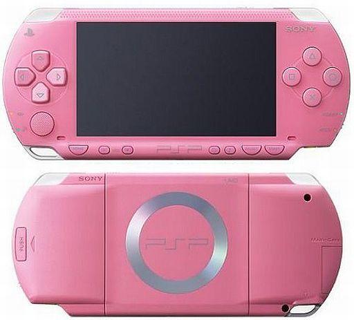 【中古】PSPハード PSP本体 ピンク(PSP-1000PK)(状態:本体状態難)