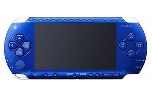 【中古】PSPハード PSP本体 メタリック・ブルー[PSP-1000MB](状態:本体のみ、本体状態難)