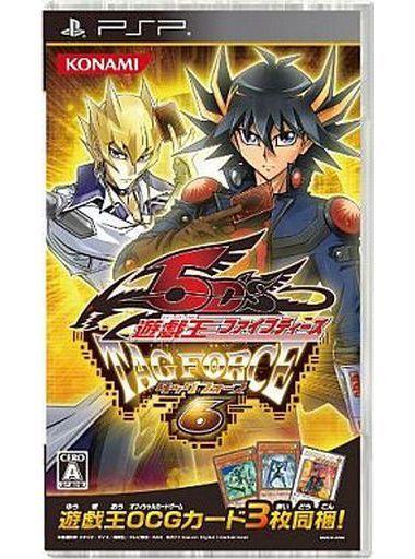 【中古】PSPソフト ランクB)遊戯王ファイブディーズ タッグフォース 6