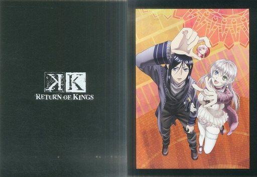 【中古】アニメムック K RETURN OF KINGS ポートレート