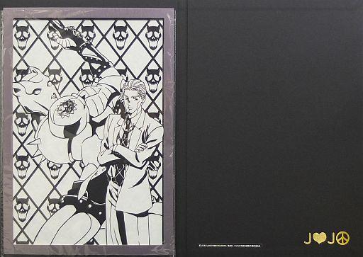 【中古】アニメムック ジョジョの奇妙な冒険 ダイヤモンドは砕けない 伽羅切絵 吉良吉影(フレーム:キラーパープル)