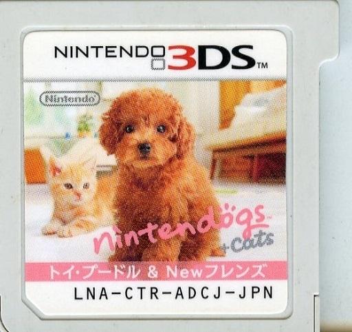 【中古】ニンテンドー3DSソフト Nintendogs + Cats トイプードル&Newフレンズ (箱説なし)