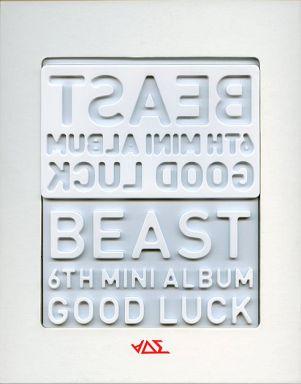 【中古】輸入洋楽CD BEAST / Good Luck (ホワイトVer.)(韓国盤)[輸入盤](状態:メンバー別リップカード欠品)