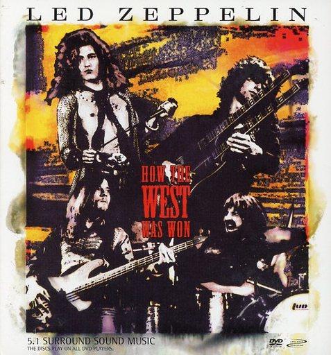 【中古】輸入洋楽DVD-AUDIO LED ZEPPELIN / HOW THE WEST WAS WON(DVDオーディオ)[輸入盤]