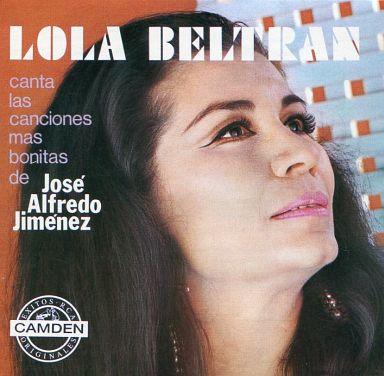 【中古】輸入洋楽CD LOLA BELTRAN / CANTA A JOSE ALFREDO JIMENEZ[輸入盤]