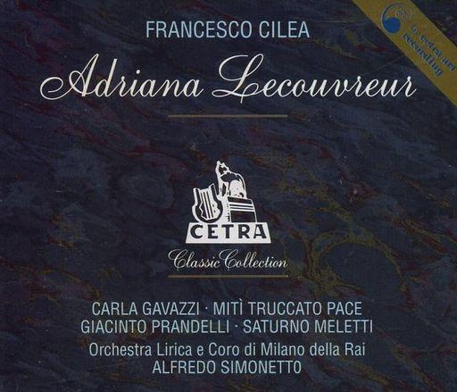 【中古】輸入クラシックCD Alfredo Simonetto(conduct) / Francesco Cilea:Adriana Lecouvreur[輸入盤]