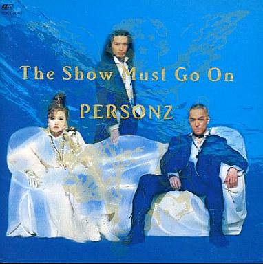 【中古】邦楽CD PERSONZ / The Show Must Go On