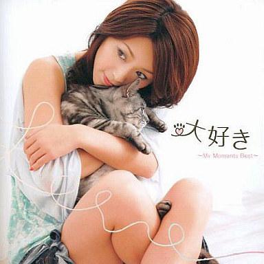大きな猫を抱きしめる酒井法子