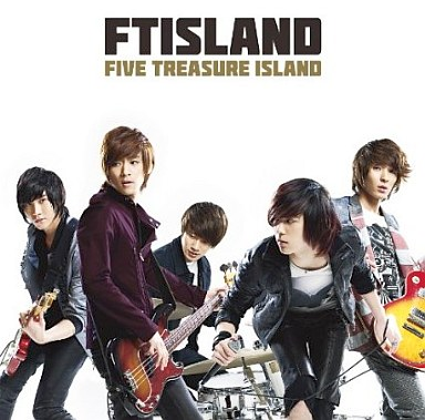 【中古】邦楽CD FTISLAND DVD付 / FIVE TREASURE ISLAND(初回限定盤A)