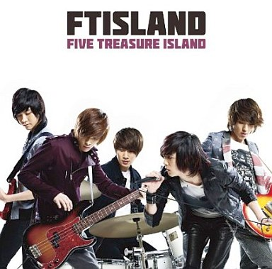 【中古】邦楽CD FTISLAND DVD付/FIVE TREASURE ISLAND(初回限定盤B)