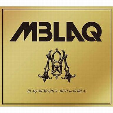 【中古】邦楽CD MBLAQ / BLAQ MEMORIES -BEST in KOREA-[初回生産限定盤B]