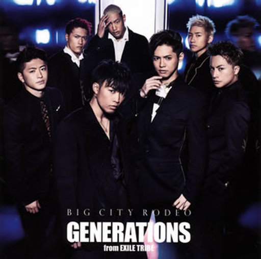 【中古】邦楽CD GENERATIONS from EXILE TRIBE / BIG CITY RODEO[DVD付]