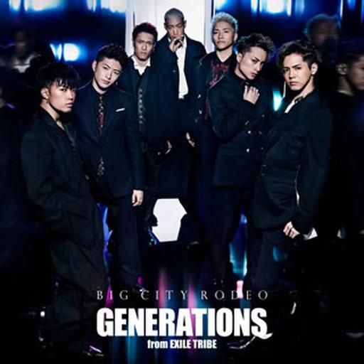 【中古】邦楽CD GENERATIONS from EXILE TRIBE / BIG CITY RODEO