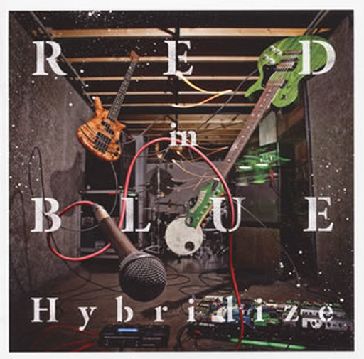 【中古】邦楽CD RED in BLUE / Hybridize