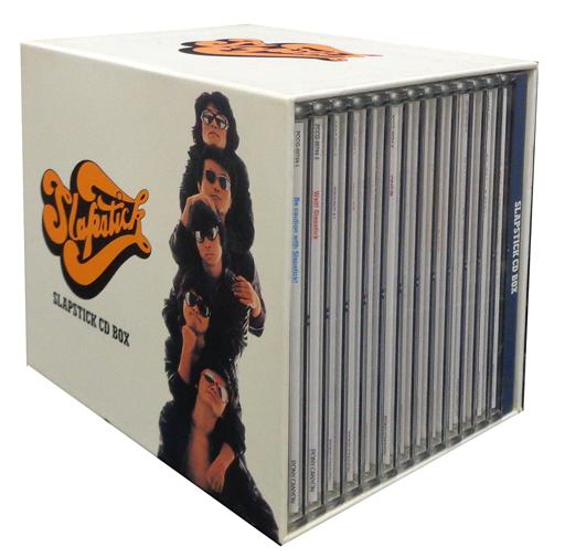 【中古】邦楽CD スラップスティック / スラップスティック CD-BOX(状態:DISC.11のデータ面剥離有り、DISC.1・7の再生に不具合の出る可能性の傷有り、収納BOX汚れ・ヤケ・凹み有り)
