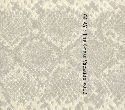 【中古】邦楽CD GLAY / THE GREAT VACATION VOL.2 -SUPER BEST OF GLAY-[DVD付初回限定盤B](状態:曲目ステッカー使用済み)