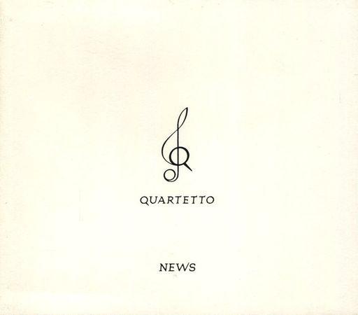 【中古】邦楽CD NEWS / QUARTETTO[初回限定盤](状態:DVD欠品)
