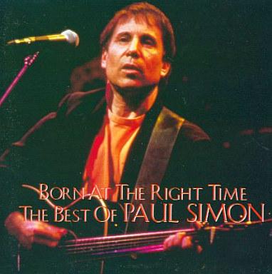 【中古】洋楽CD ポール・サイモン / ボーン・アット・ザ・ライト・タイム?ベスト・オブ・ポール・サイモン(廃盤)