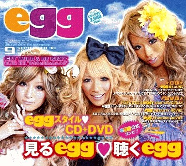 【中古】洋楽CD エッグ ?ゲット・ワイルド&ビー・セクシー?[DVD付]