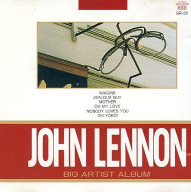 【中古】洋楽CD ジョン・レノン / ビッグ・アーティスト・アルバム