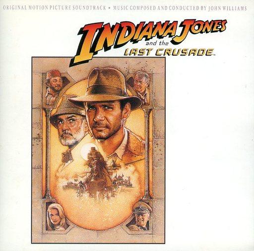 【中古】映画音楽(洋画) 「インディー・ジョーンズ?最後の聖戦」オリジナル・サウンドトラック